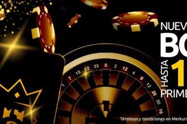 Bono de Bienvenida en Merkurmagic Casino