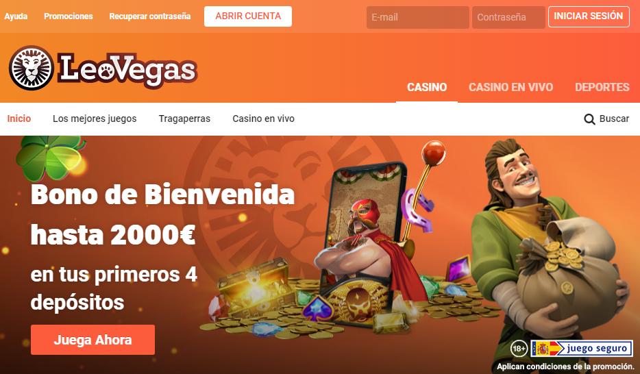 Diviértete en LeoVegas Casino