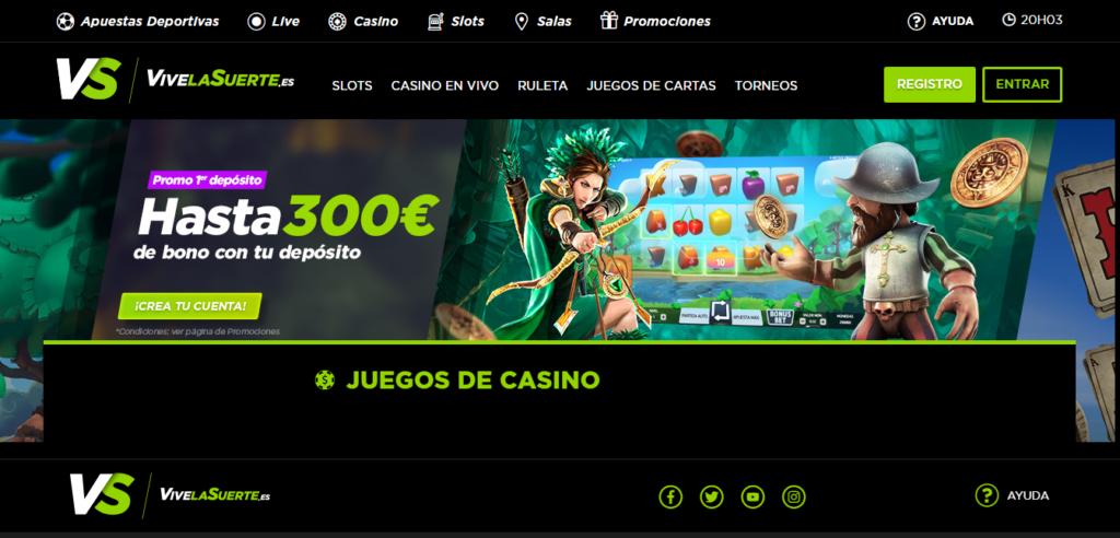Diviértete en ViveLaSuerte Casino