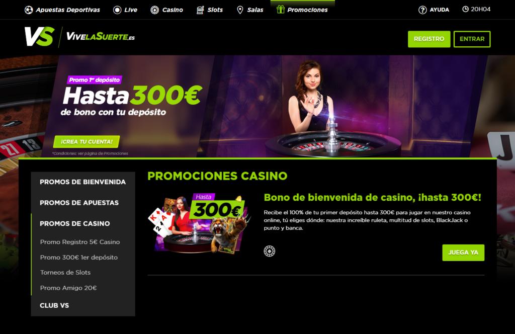 Regístrate en ViveLaSuerte Casino